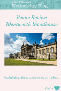 Venue Review - Wentworth Woodhouse