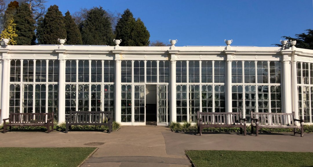 Camellia House at Wollaton Hall