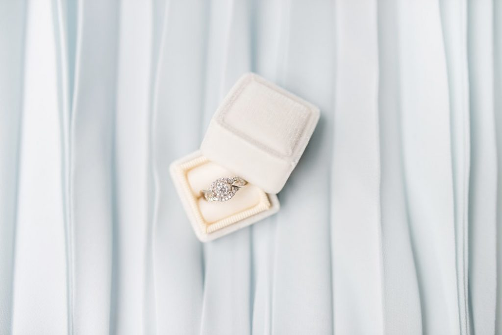 Ring in beautiful ring box (how to choose your wedding ring)