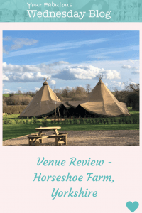 Venue Review - Horseshoe Farm Yorkshire