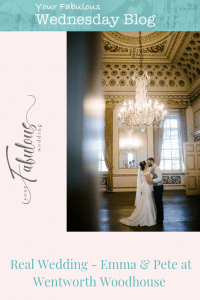 Emma & Pete's wedding at Wentworth Woodhouse