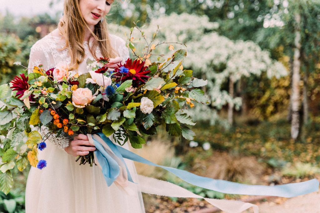 Oversized Autumn Wedding Bouquet