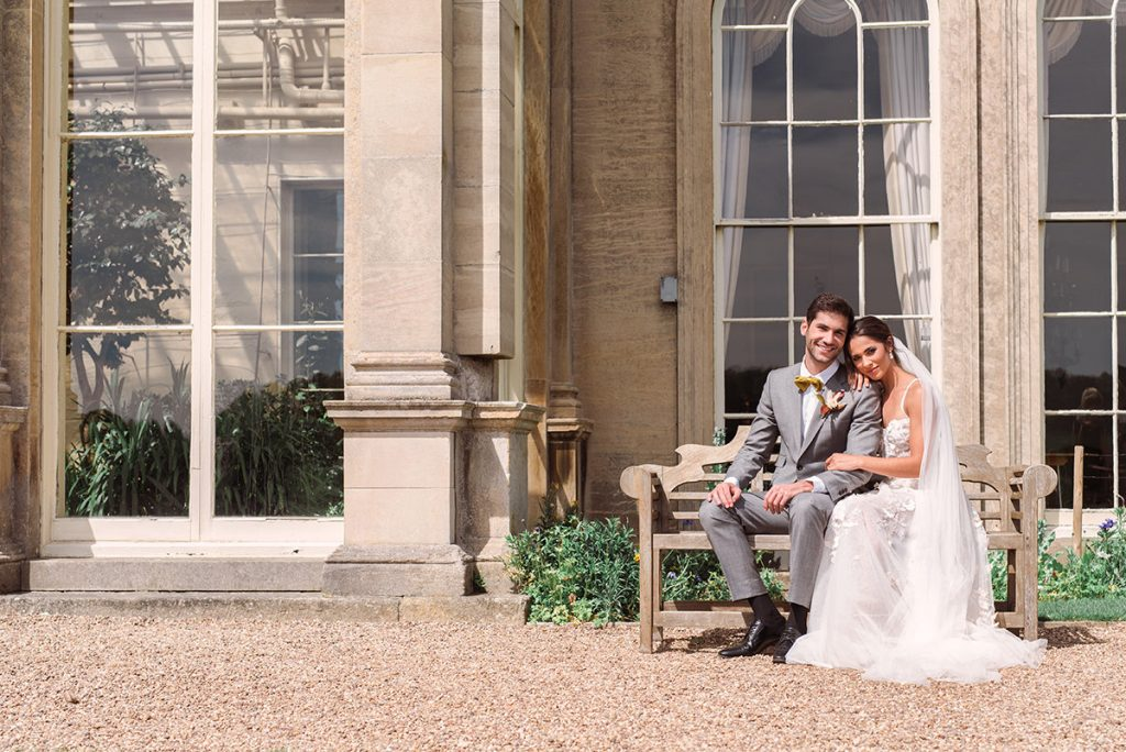 Wedding Couple at Prestwold Hall