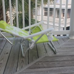 Nautica Beach Chairs Black Upholstered Dining How The Chair Saved Me Hundreds Of Dollars Very Relaxed Reclined
