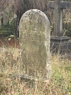 Gravestone of Charlotte Blaker