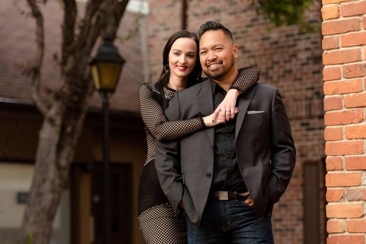 Village Square Engagement | Rob & Melissa
