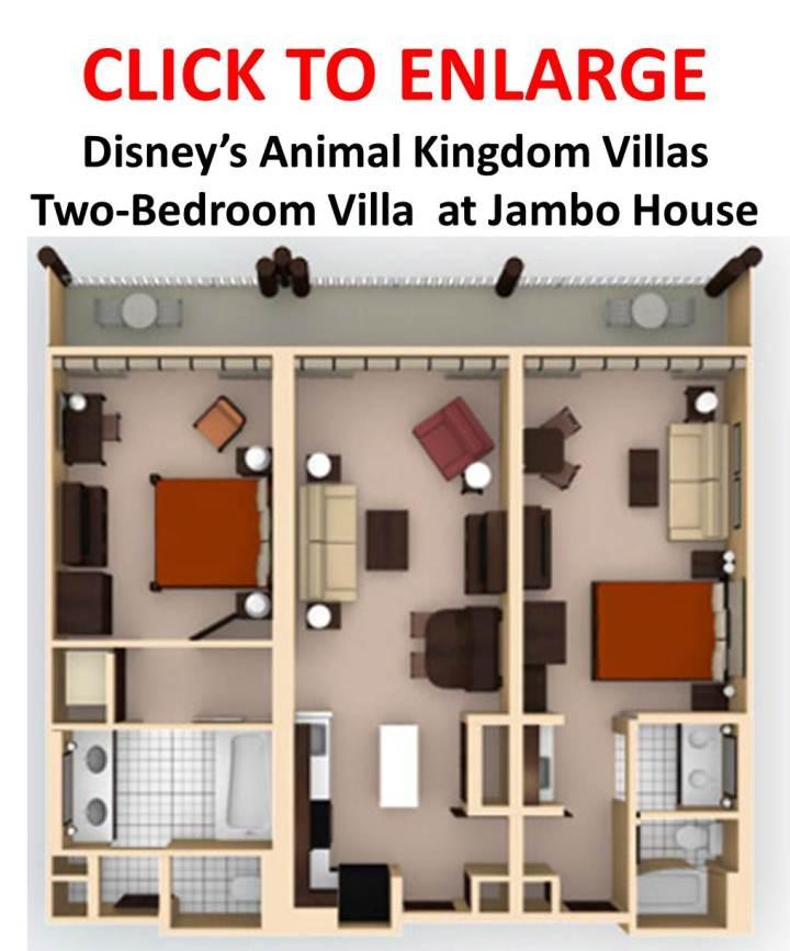 Kidani Village 2 Bedroom Villa Floor Plan Bedroom Review Design