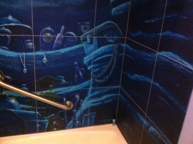 Disney Art Animation Mermaid Room
