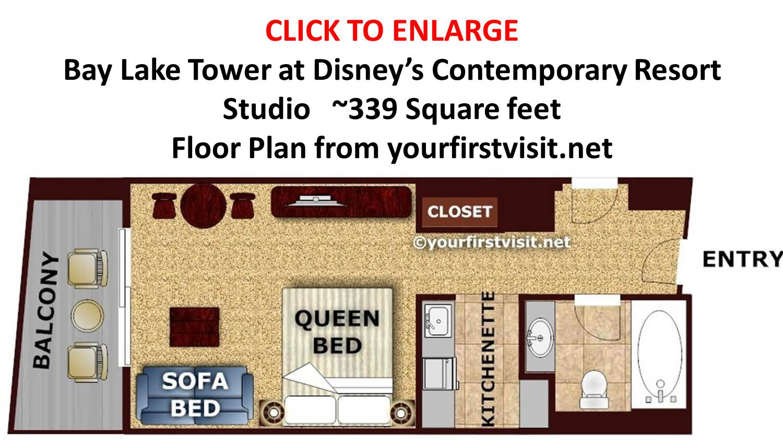 boardwalk sofa review most comfortable ever uk review: bay lake tower at disney's contemporary resort ...