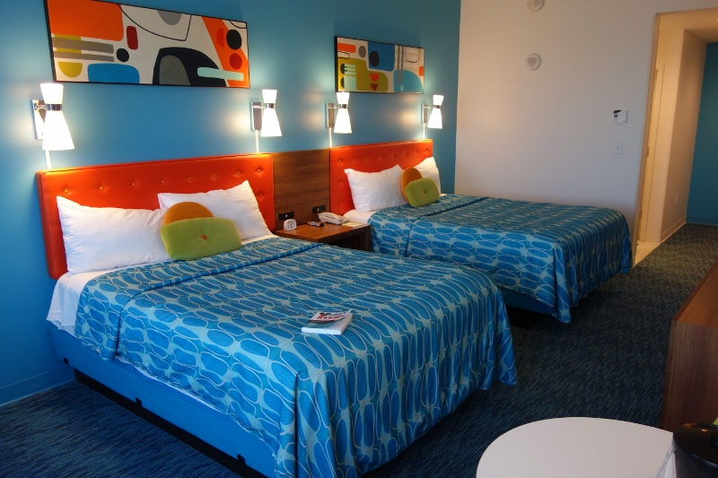 Standard Four Person Rooms At Cabana Bay Beach Resort At