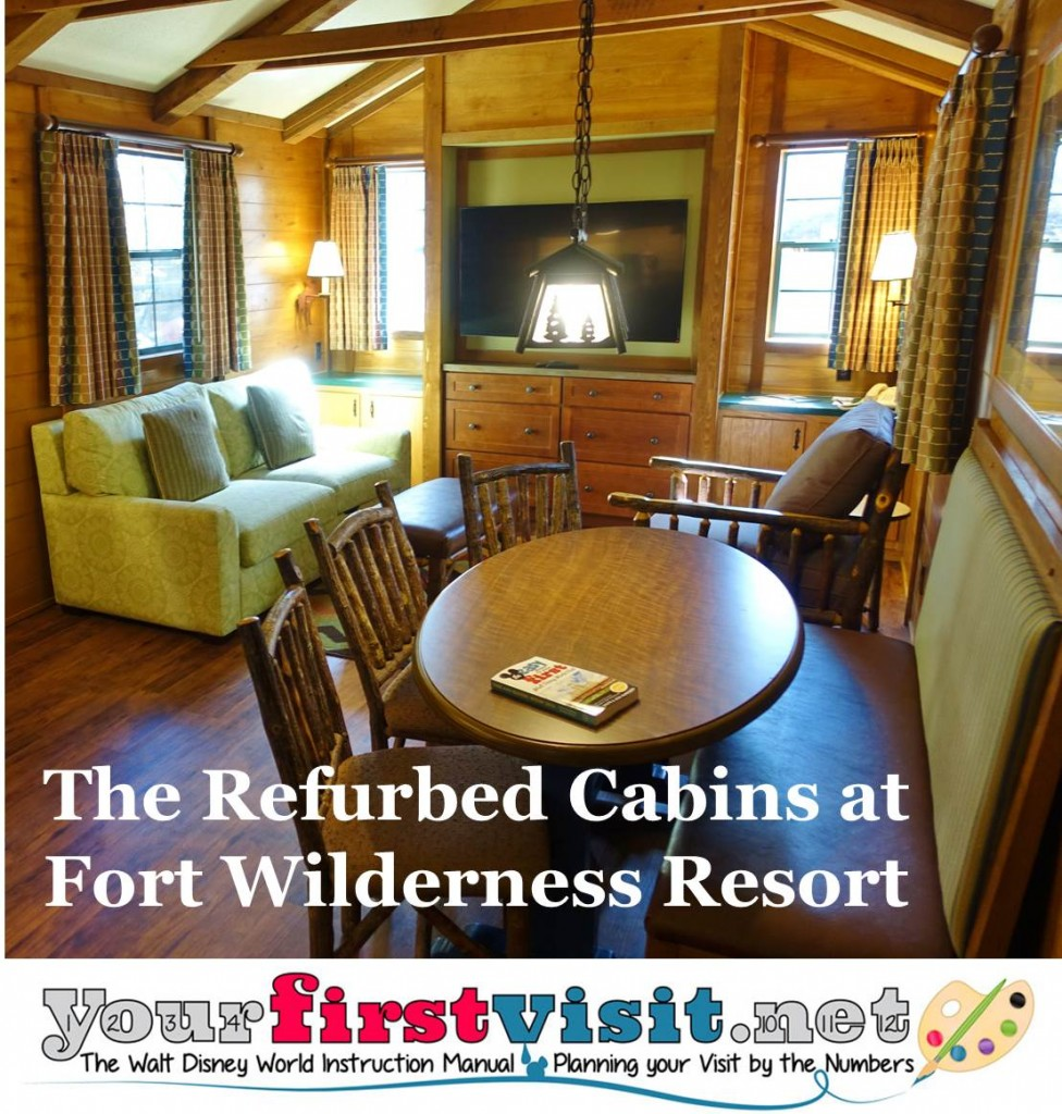 best color schemes for living rooms how to decorate room ideas photo tour of a refurbed cabin at disney's fort wilderness ...