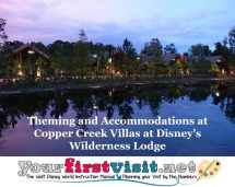 Theming And Accommodations Copper Creek Villas