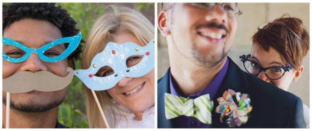 Best wedding photos prop ideas