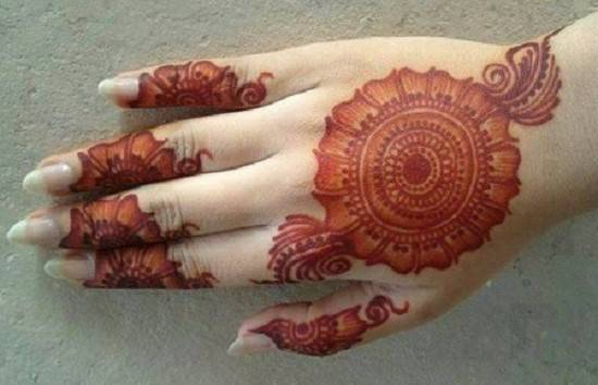 Fingers Mehndi Designs Pics : Finger mehndi designs for brides to try on weddings