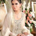 White Bridal Dresses For Pakistani Brides In 2016