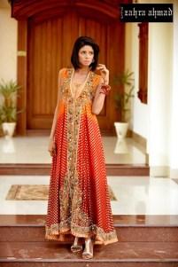Zahra Ahmed Bridal Party Wear Dresses 2016 10