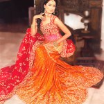 Bridal lehenga Pakistani wedding wear