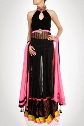 Bridal Party Wear Indian Lehenga Designs