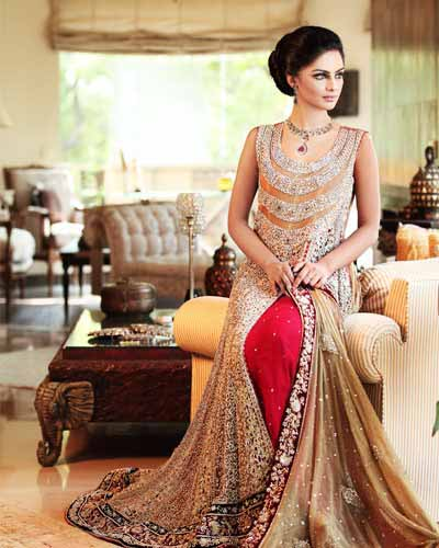Engagement Party Dress Designs For Pakistani Brides 7