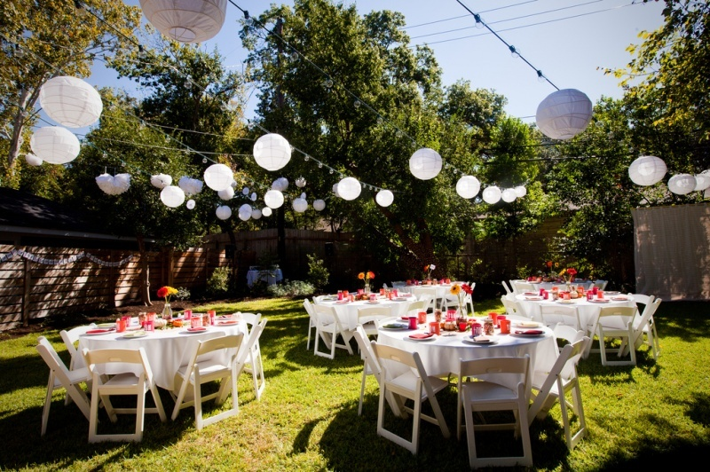 ... atmosphere and wedding ceremony these Backyard Wedding Reception Ideas  will sure make your wedding ceremony special and memorable you will be  looking at ... - Backyard Wedding Reception Ideas For Summer Season 2016