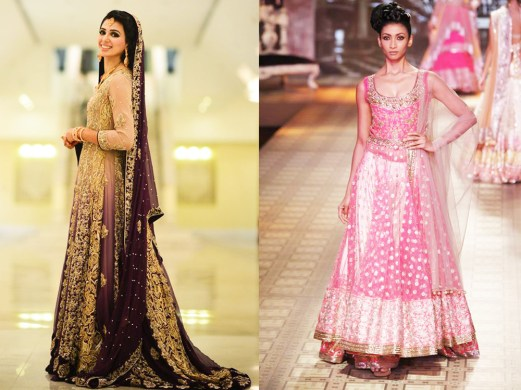 Gorgeous Walima Dresses For Summer Season Weddings 8