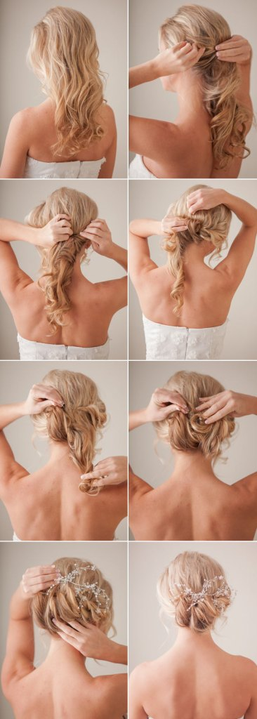 Step By Step Summer Bridal Hair Ideas
