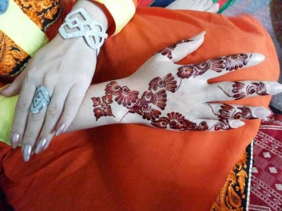 Amazing Wedding Mehandi Designs For Summer Autumn 8