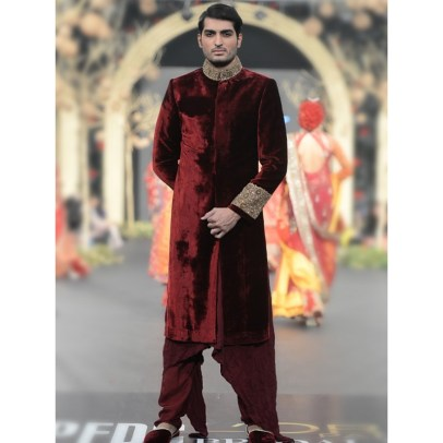 HSY Men Wedding Sherwani Designs 2016 5