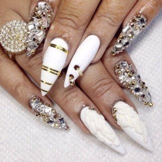 Bridal Nail Designs For Summer-Autumn Season