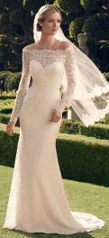 Off Shoulder Wedding Dress Designs For Summer Season 3
