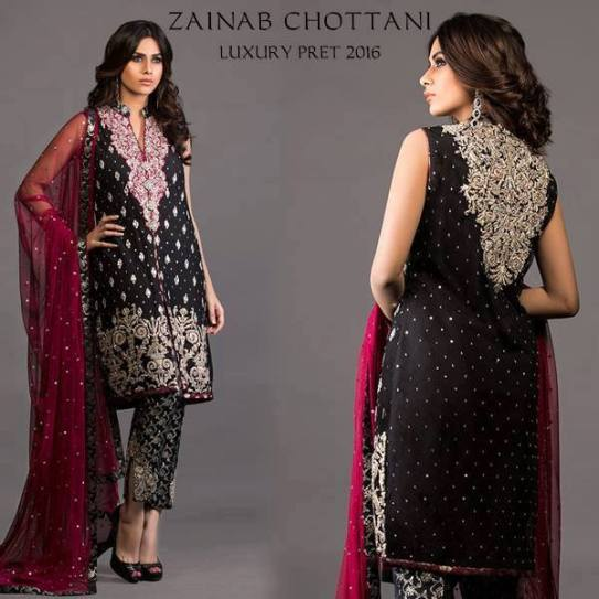 Zainab Chottani Bridal Formal Wear Summer 2016 1