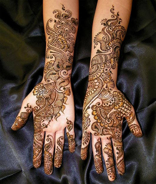 Fall Mehndi Designs For Brides and Guests 2016-17 4