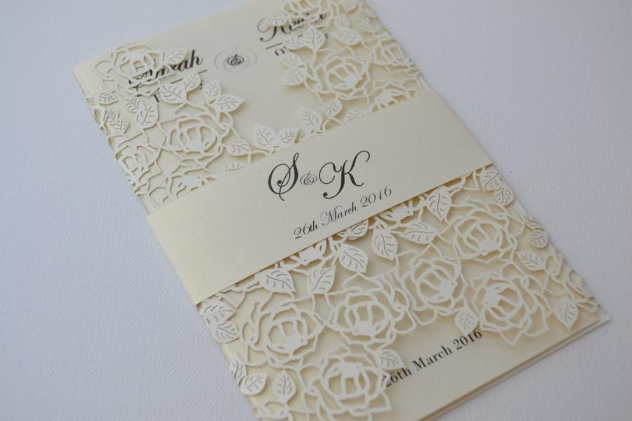 Laser Cut Wedding Invitations Card New Designs For This Season