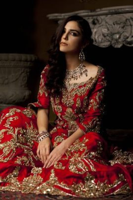 Ammara Khan Luxury Bridal Dresses Winter Collection 2017 7