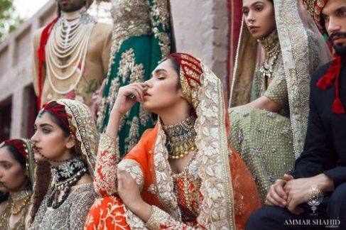 Ammar Shahid Traditional Bridal Collection For Summer 2017 4