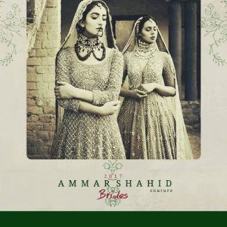 Ammar Shahid Traditional Bridal Collection For Summer 2017 5