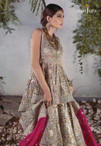 Asim Jofa Bridal Lehenga Designs For Pakistani Brides 2017 3