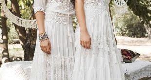 Inbal Raviv White Gypsy Bridal Collection Bohemian Style 2017