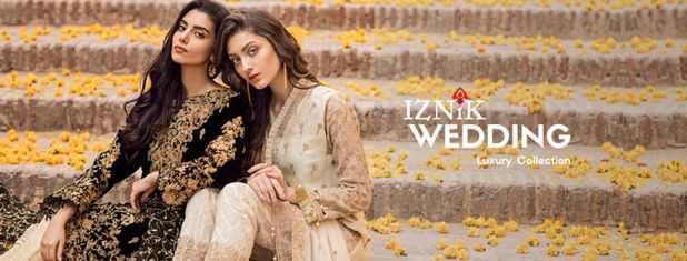 Iznik Chiffon Luxury Wedding Collection 2018