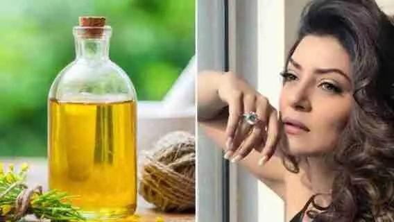 Canola Oil On Skin