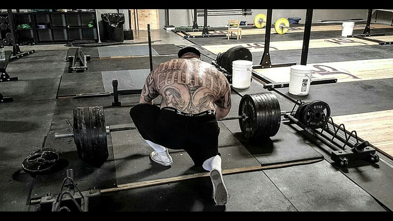 800 Pound Deadlift Rows And Arms Strength Cartel Big