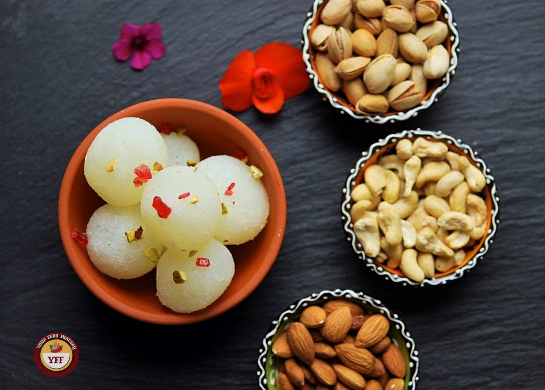 Rasgulla - Indian Sweet Recipe | Your Food Fantasy