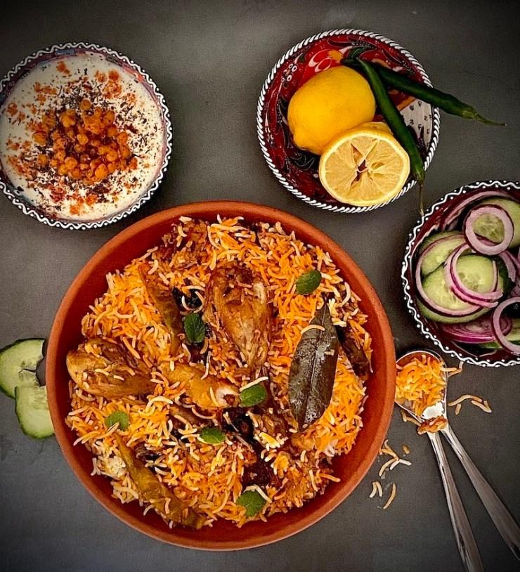 Chicken Dum Biryani - How to make Biryani