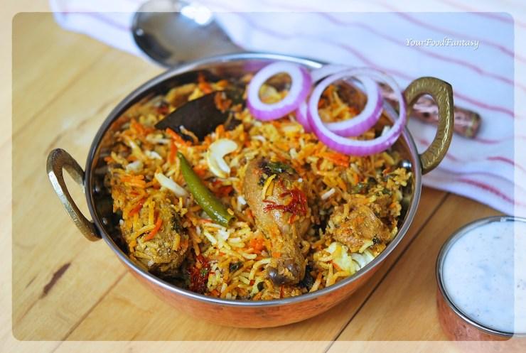Chicken Dum Biryani Recipe | YourFoodFantasy.com by Meenu Gupta