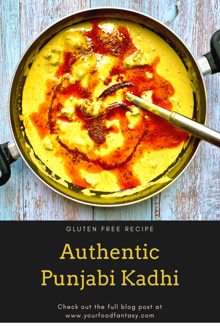 Punjabi Kadhi Recipe   Your Food Fantasy