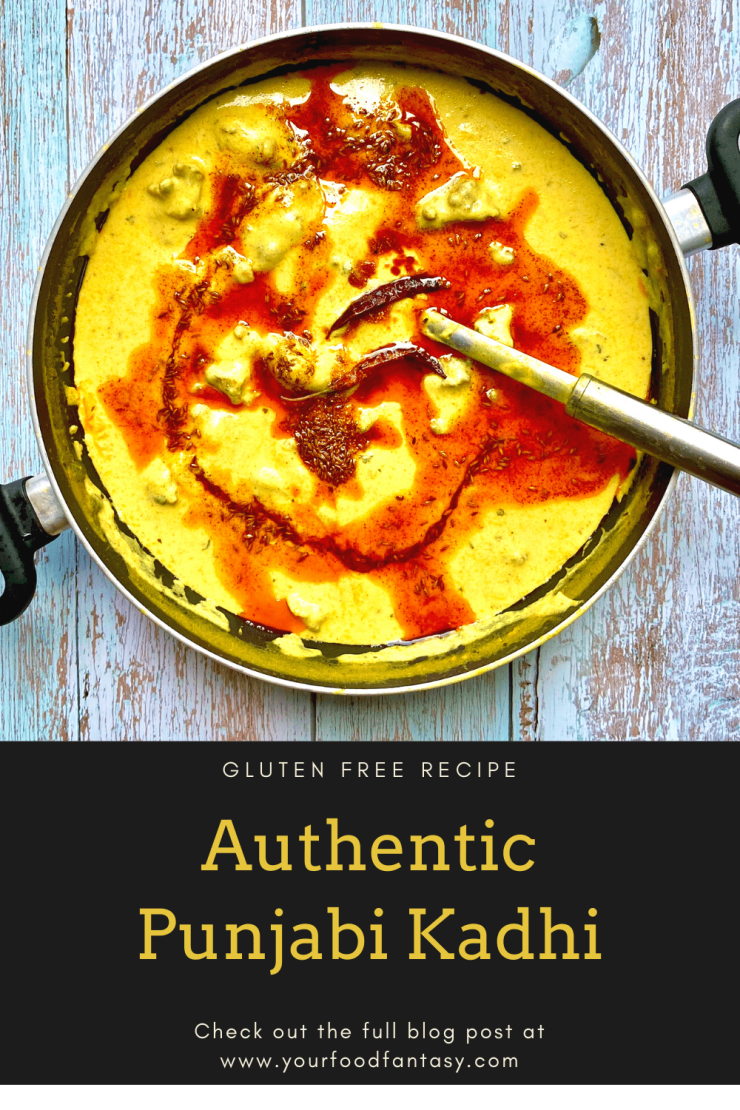 Gluten Free Punjabi Kadhi Recipe | Your Food Fantasy