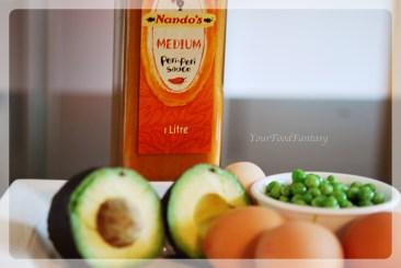 Recipe-prepration for Avocado Eggs at your food fantasy   YourFoodFantasy.com