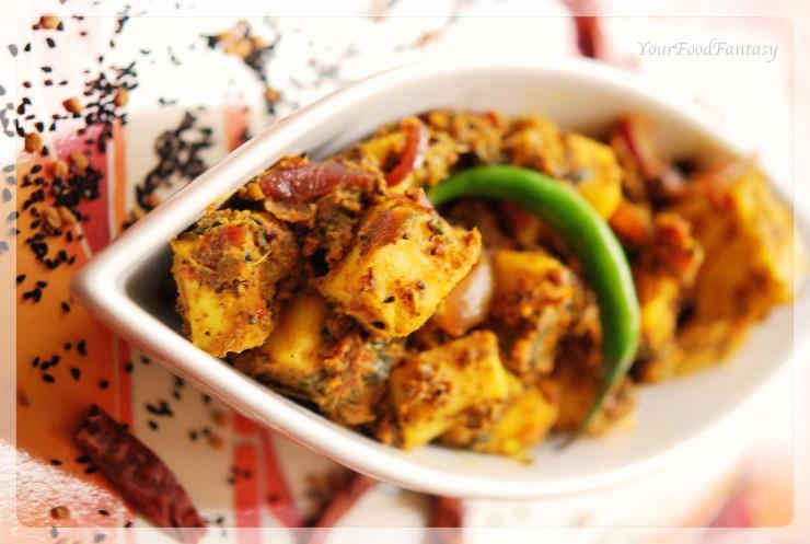 delicious masala paneer recipe  yourfoodfantasy.com by meenu gupta