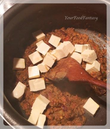 making of masala paneer | your food fantasy by meenu gupta