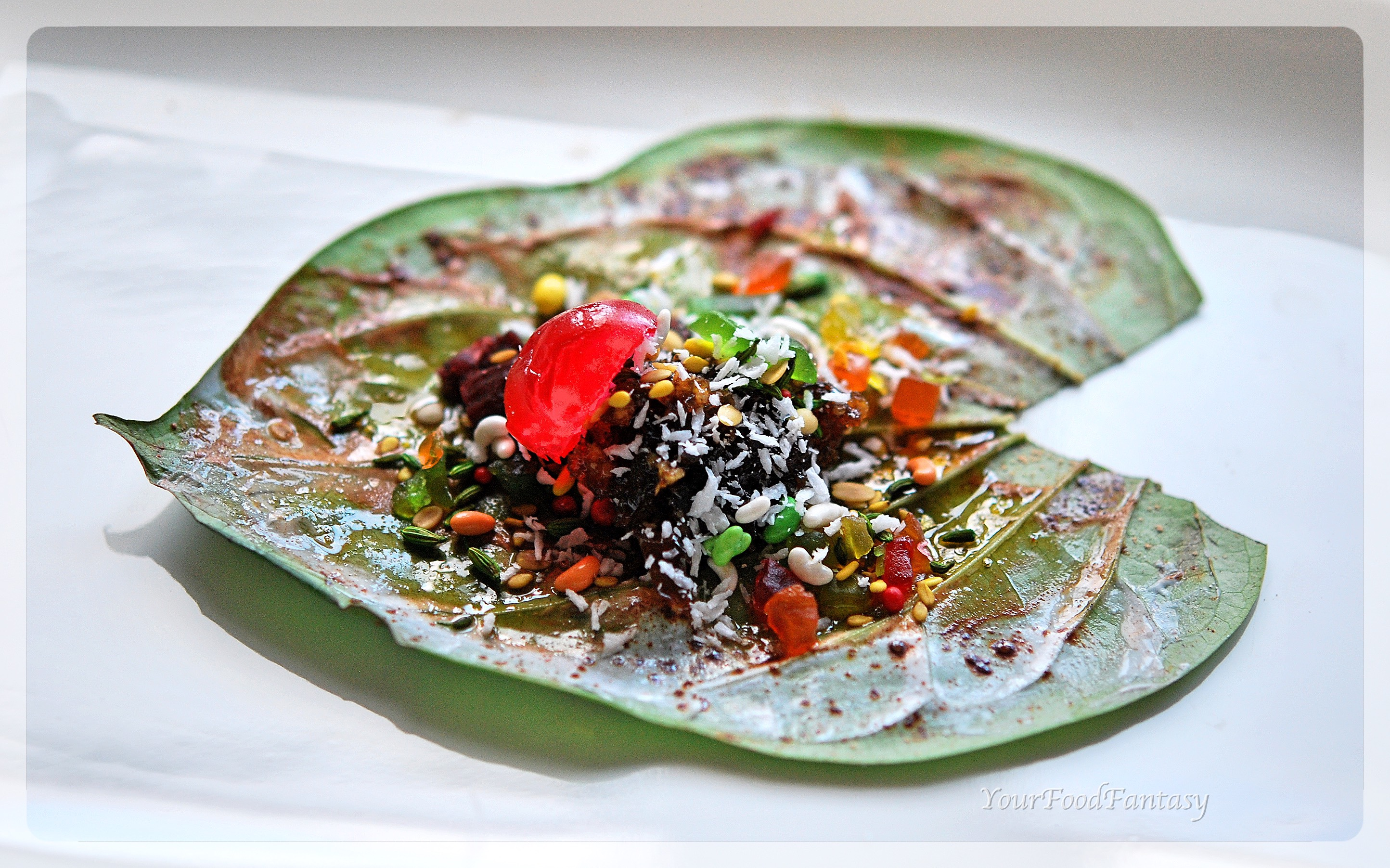 paan recipe at yourfoodfantasy by meenu gupta